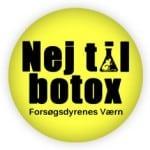 Nej til botox logo