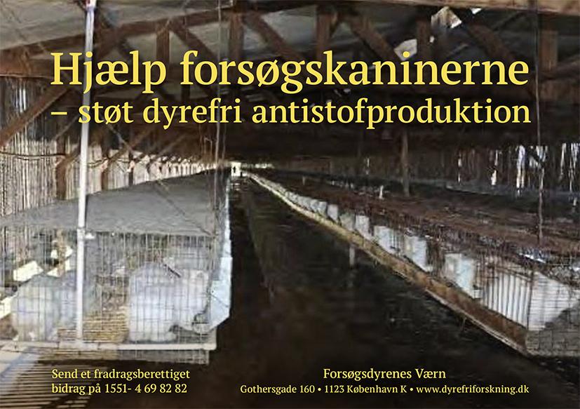 Forsøgsdyrenes Værn -støt dyrefri antistofproduktion