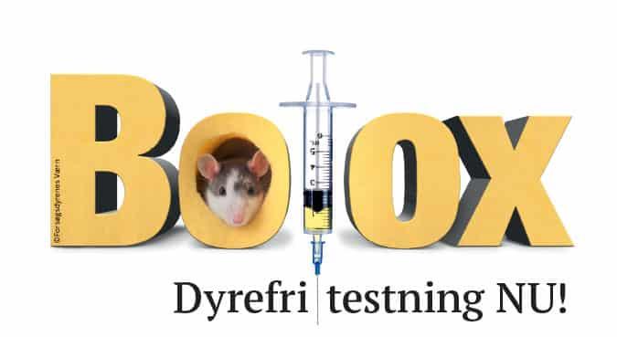Forsøgsdyrenes Værn Botox dyrefri testing nu